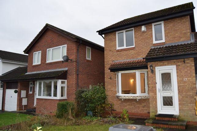 Thumbnail Semi-detached house to rent in Crookburn Close, Carlisle