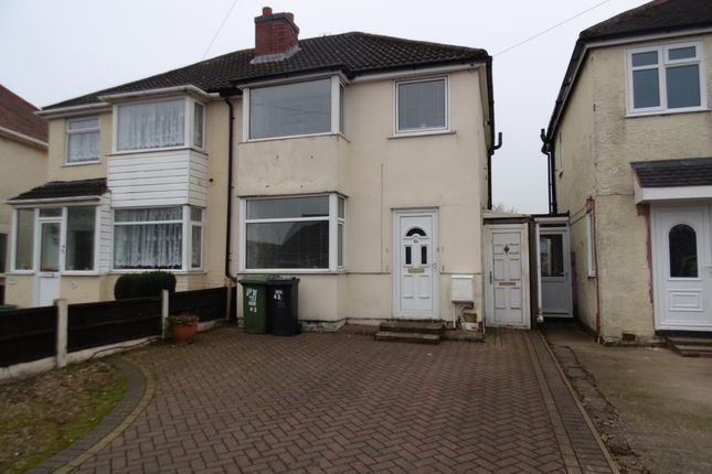 Thumbnail Semi-detached house to rent in Beechtree Road, Walsall Wood, Walsall