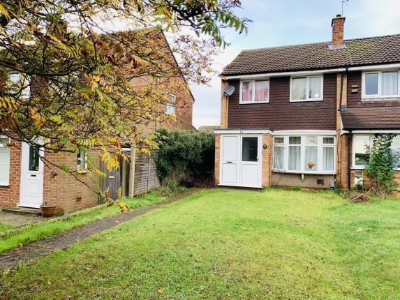 Thumbnail End terrace house for sale in High Street, Westoning, Bedford, Bedfordshire
