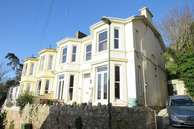 Thumbnail End terrace house for sale in Thurlow Road, Torquay