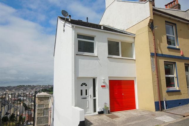 Thumbnail End terrace house for sale in Pellew Place, Stoke, Plymouth