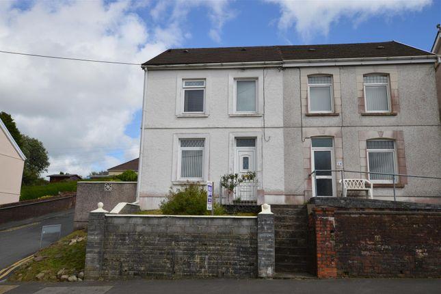 Thumbnail Semi-detached house for sale in Brynamman Road, Lower Brynamman, Ammanford