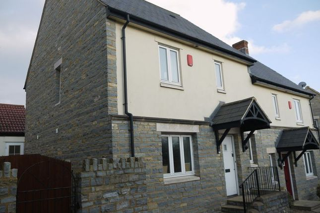 Thumbnail Semi-detached house to rent in Harding Court, Somerton