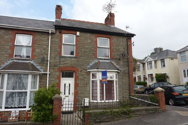 Thumbnail Terraced house to rent in Acland Road, Bridgend