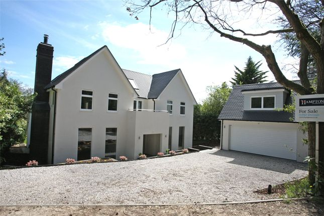Thumbnail Detached house for sale in Beech Avenue, Lower Bourne, Farnham, Surrey