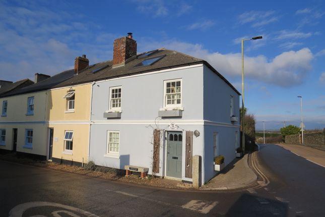 Thumbnail End terrace house for sale in Higher Town, Malborough, Kingsbridge