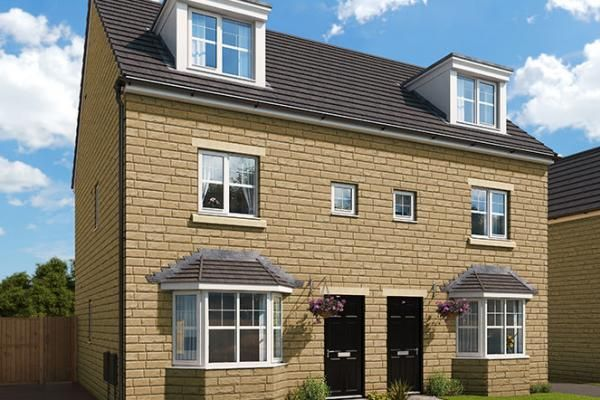 """Thumbnail Property for sale in """"The Rathmell At Highgrove Place"""" at Smirthwaite Street, Burnley"""