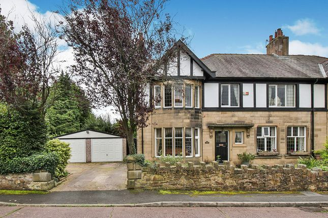 Thumbnail Semi-detached house for sale in Reedley Grove, Burnley, Lancashire