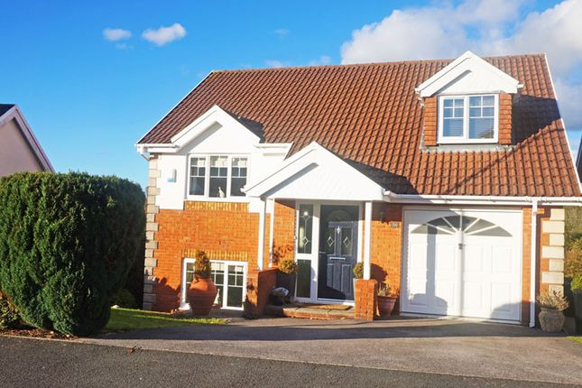 Thumbnail Detached house for sale in Gellideg Isaf Rise, Maesycwmmer