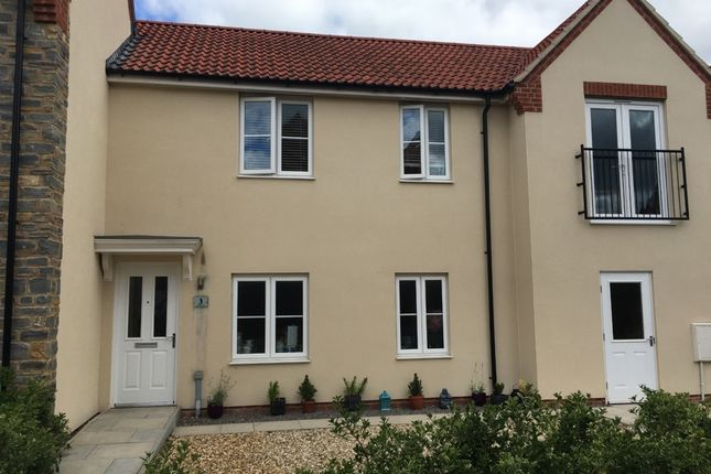 Thumbnail Terraced house to rent in Compton Close, Glastonbury