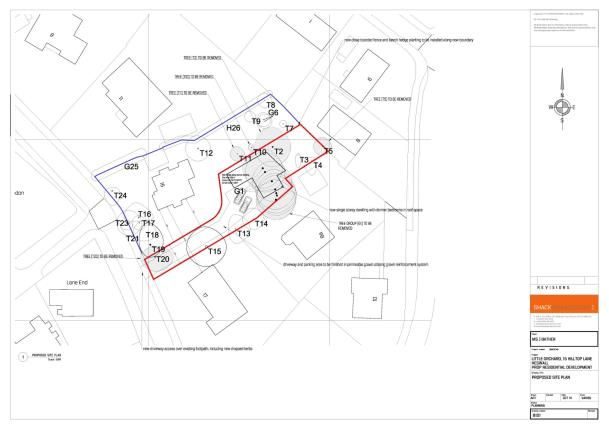 Thumbnail Land for sale in Hilltop Lane, Heswall, Wirral