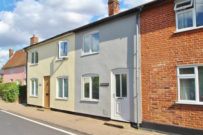Thumbnail Terraced house to rent in The Street, Rickinghall, Diss
