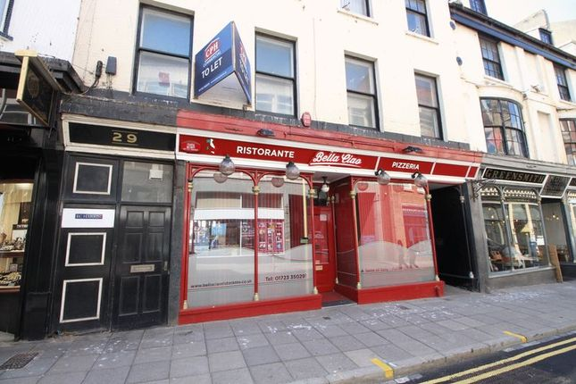 Commercial property for sale in Bella Ciao, St Nicholas Street, Scarborough