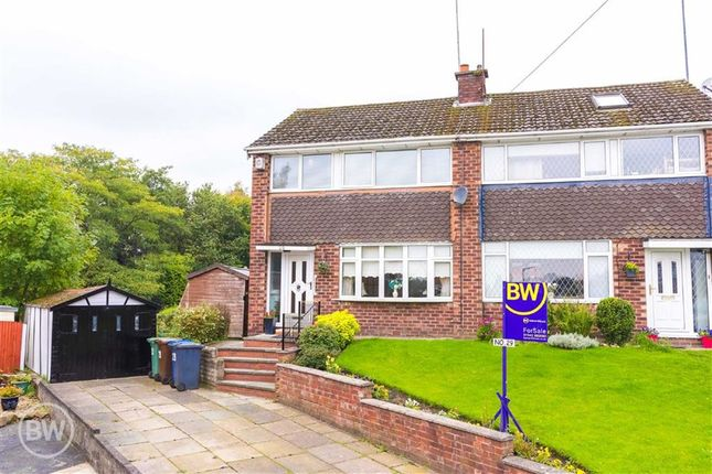 Thumbnail Semi-detached house for sale in Rixton Drive, Tyldesley, Manchester