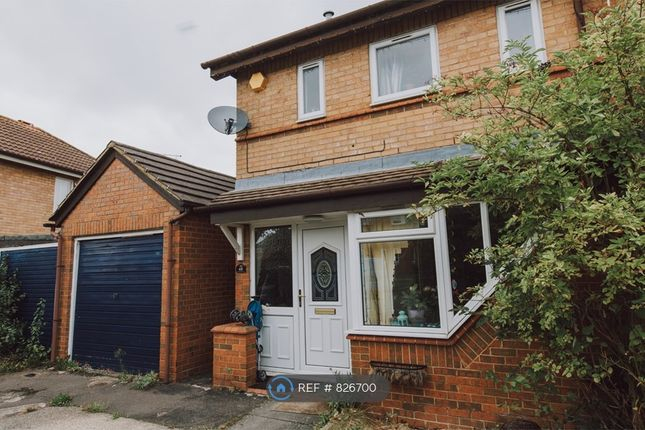 Thumbnail Semi-detached house to rent in Engaine Drive, Shenley Church End, Milton Keynes