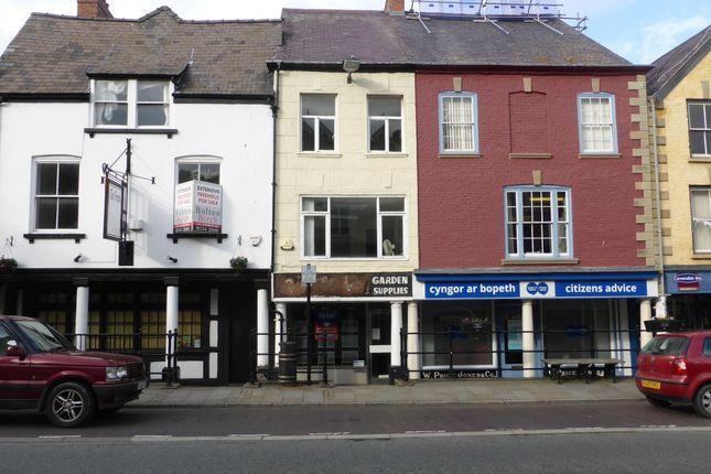 Thumbnail Retail premises to let in 25 High Street, Denbigh
