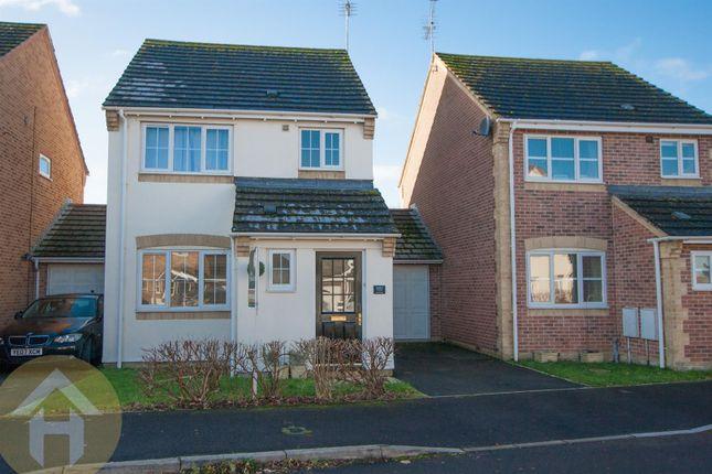 Thumbnail Link-detached house for sale in Webbs Court, Lyneham, Chippenham