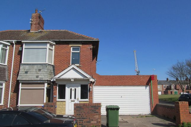 Thumbnail Semi-detached house to rent in Allendale Road, Blyth
