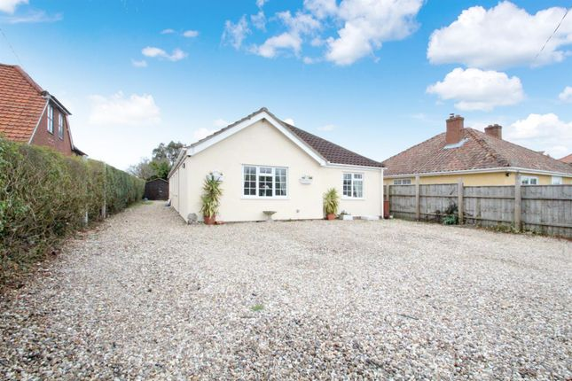 Thumbnail Detached bungalow for sale in London Road, Capel St. Mary, Ipswich