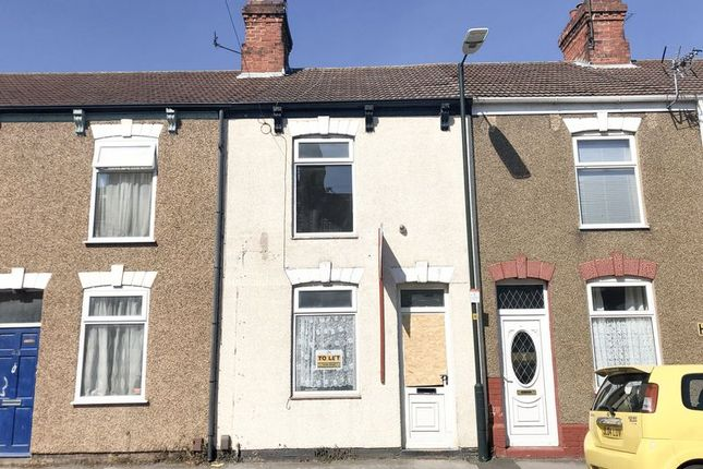 Thumbnail 3 bed terraced house for sale in Hildyard Street, Grimsby