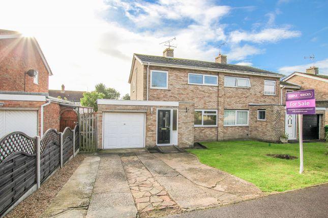 Thumbnail Semi-detached house for sale in Langlands, Lavendon