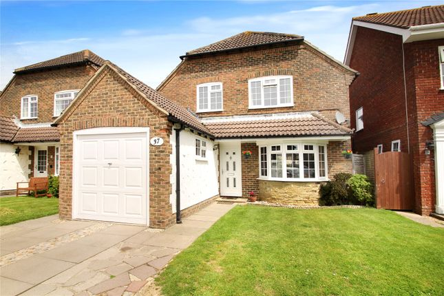 Thumbnail Detached house for sale in Dell Drive, The Dell, Angmering, West Sussex