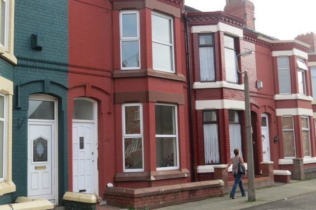 Thumbnail Terraced house to rent in Sulby Avenue, Liverpool