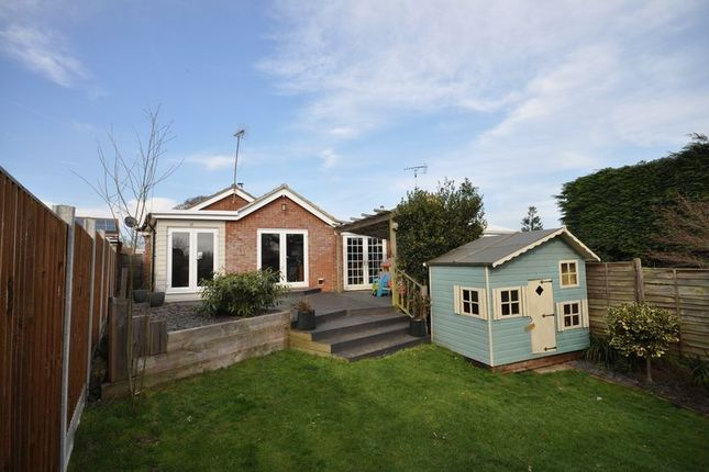 Thumbnail Bungalow for sale in Elmwood Drive, West Mersea, Colchester