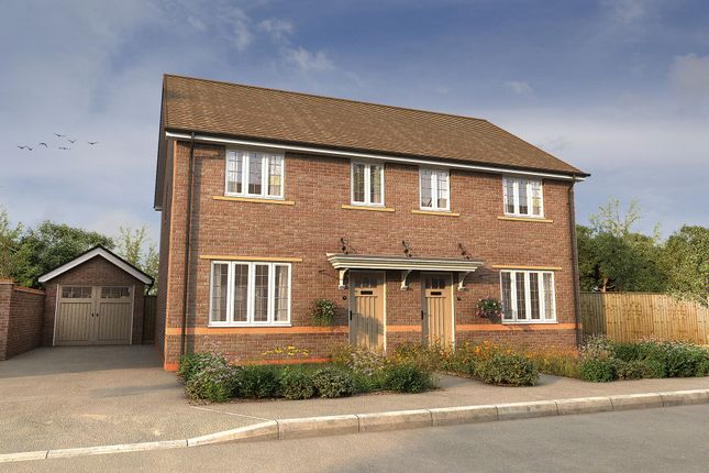 "Thumbnail Semi-detached house for sale in ""The Byron"" at Wharford Lane, Runcorn"