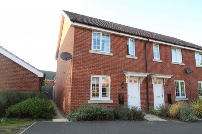 Thumbnail Town house to rent in Wilks Road, 'mallard Quarter', Grantham