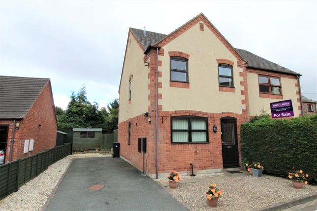 Thumbnail Semi-detached house for sale in Chapel Fields, Berriew, Welshpool
