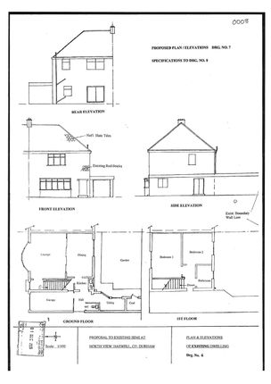 Thumbnail Land for sale in North View, Haswell, Durham