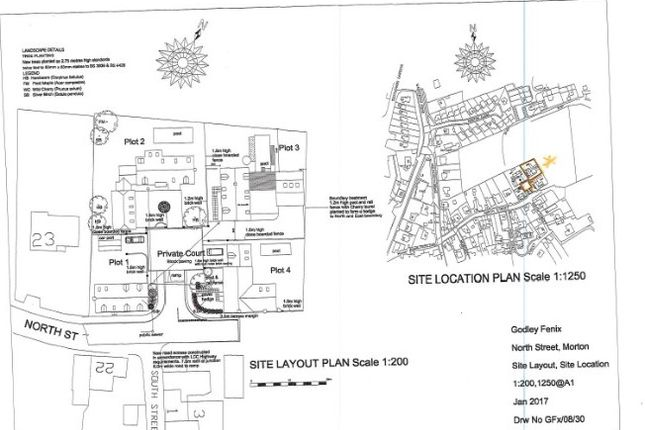 Thumbnail Land for sale in North Street, Morton, Gainsborough