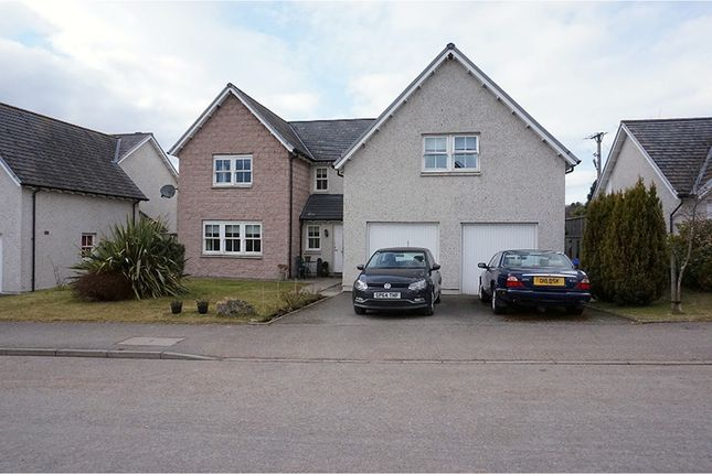 Thumbnail Detached house for sale in Kinnairdy Close, Banchory