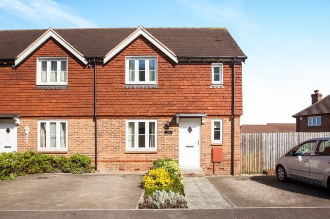 Thumbnail End terrace house for sale in Green Fields Lane, Ashford, Kent