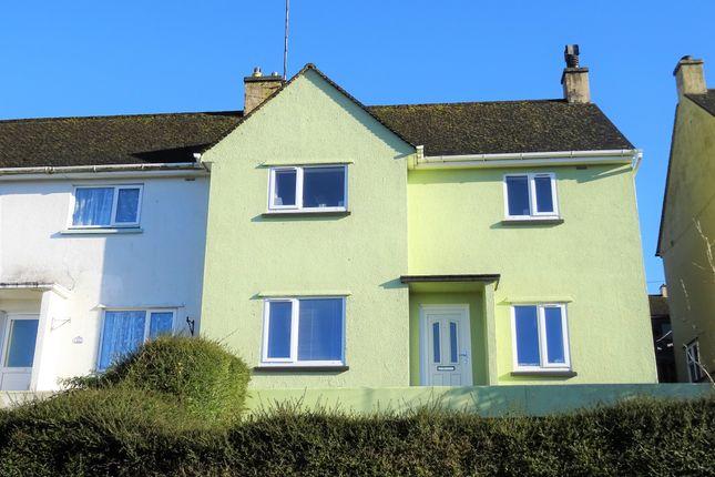 Thumbnail Semi-detached house to rent in Lanchard Road, Liskeard, Cornwall