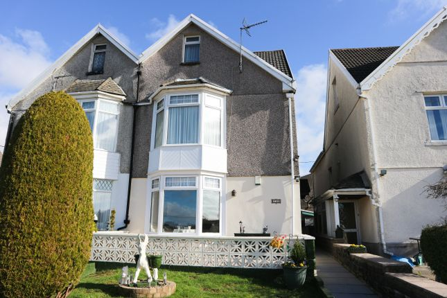 Thumbnail Semi-detached house for sale in Caeracca Villas, Pant, Merthyr Tydfil