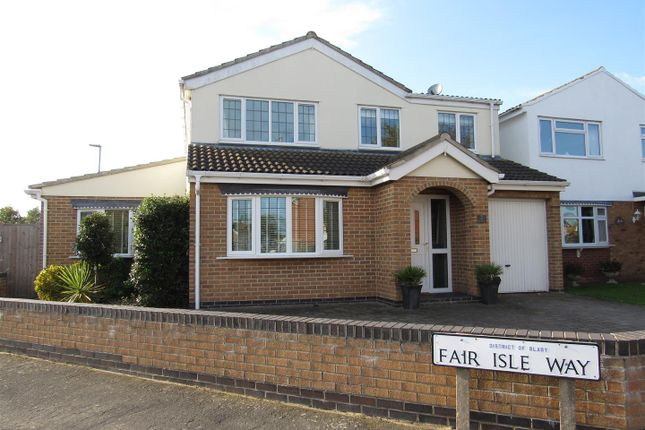 Thumbnail Detached house for sale in Fair Isle Way, Countesthorpe, Leicester