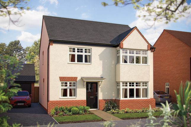 "Thumbnail Detached house for sale in ""The Canterbury"" at Larbourne Park Road, Flore, Northampton"