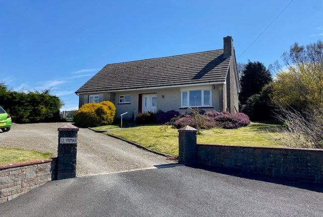 Thumbnail Bungalow for sale in Synod Inn, Near New Quay