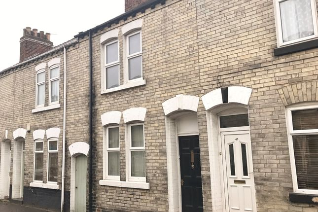 Thumbnail Terraced house for sale in Moss Street, York