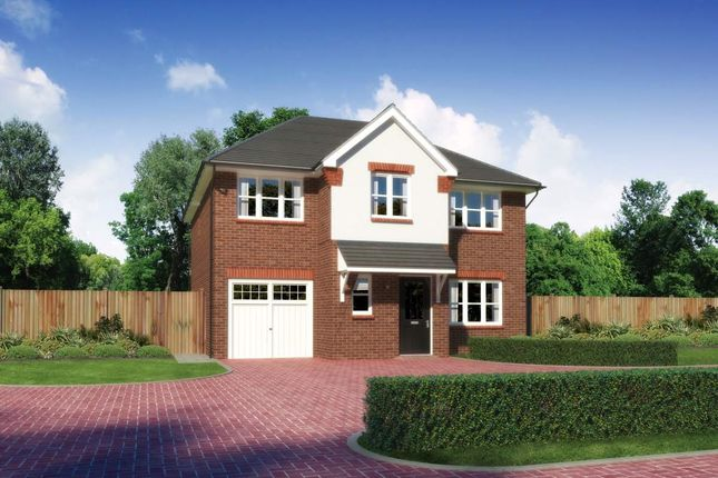 "Thumbnail Detached house for sale in ""Heddon"" at Callenders Green, Scotchbarn Lane, Prescot"