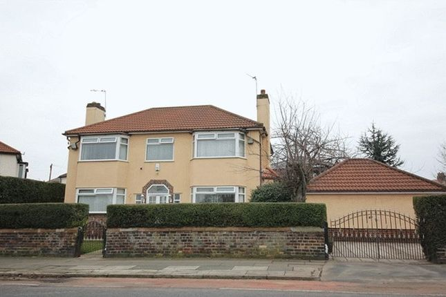 Thumbnail Detached house for sale in Woolton Road, Wavertree, Liverpool