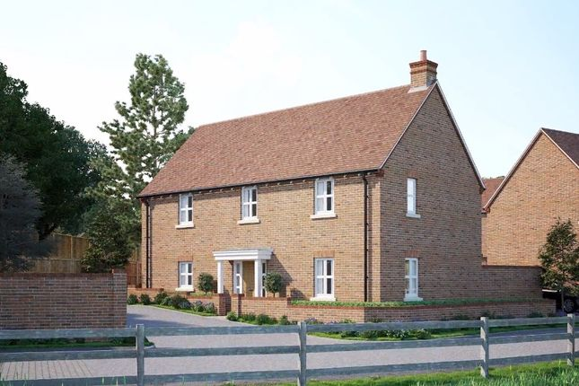 Thumbnail Detached house for sale in Farnham Road, Sheet, Petersfield, Hampshire