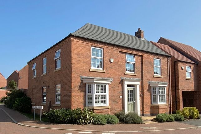 Thumbnail Detached house for sale in Bush Road, Kibworth Harcourt, Leicestershire