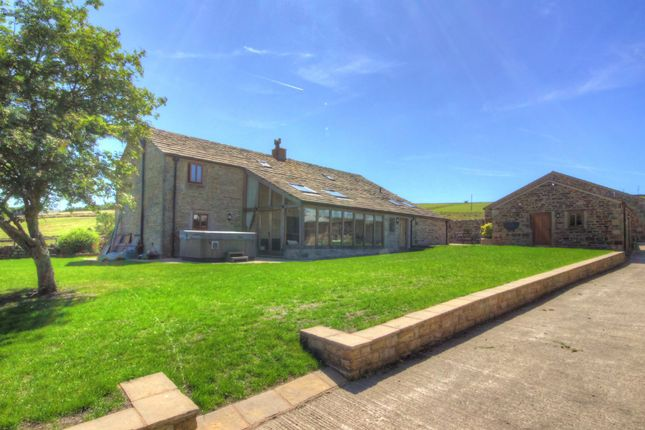 Thumbnail Farmhouse for sale in Inchfield Road, Walsden, Todmorden