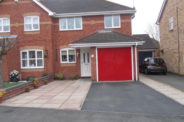 Detached house for sale in Hogarth Drive, Hinckley, Leicestershire