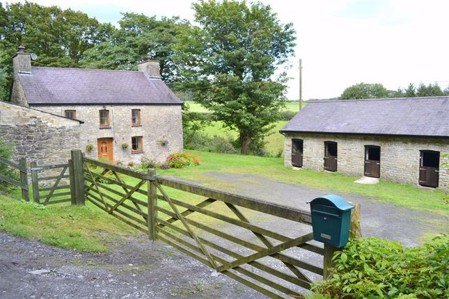 Thumbnail Farm for sale in Talgarreg, Llandysul, Ceredigion