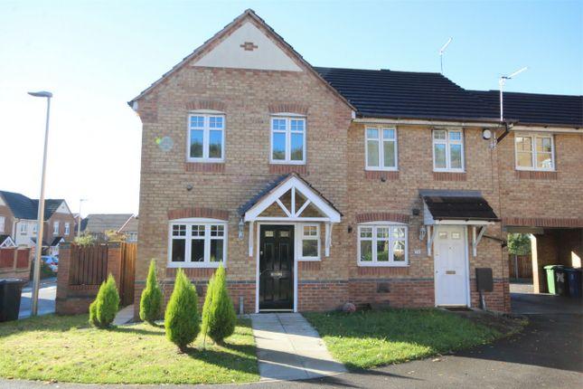 Thumbnail Detached house to rent in Dartington Road, Platt Bridge, Wigan