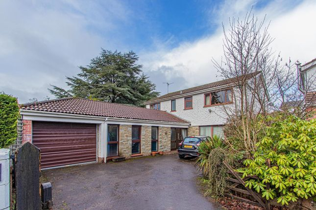 Thumbnail Detached house for sale in Hillcot Close, Lisvane, Cardiff